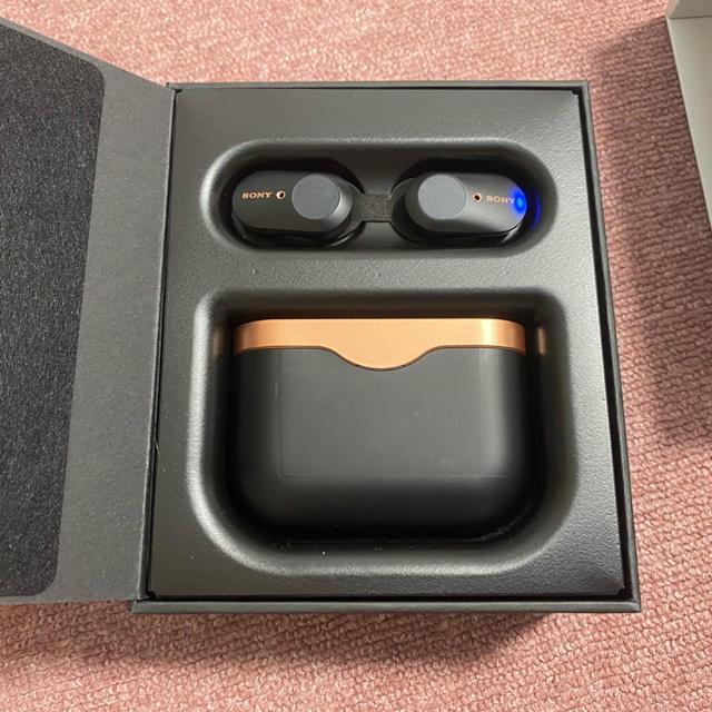 SONY(ソニー)のSONY WF-1000XM3 ブラック 美品 スマホ/家電/カメラのオーディオ機器(ヘッドフォン/イヤフォン)の商品写真