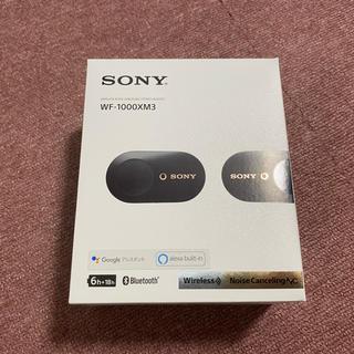 SONY - SONY WF-1000XM3 ブラック 美品