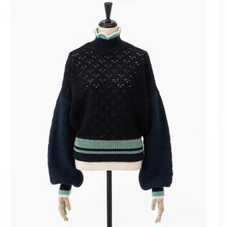 マメ(mame)のmame マメ crochet クロシェ  セーター ニット 伊勢丹限定 (ニット/セーター)