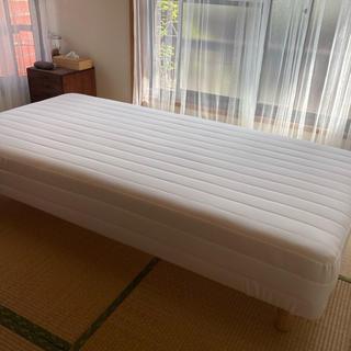 ムジルシリョウヒン(MUJI (無印良品))の無印良品シングルベッド(シングルベッド)