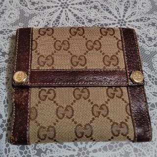 Gucci - 送料無料★GUCCI★グッチ★二つ折り財布★462