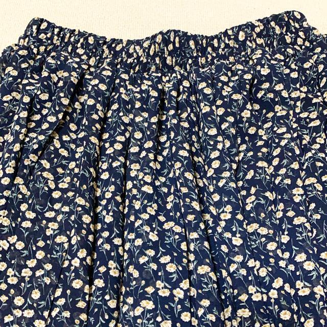 AS KNOW AS(アズノウアズ)のas know as 小花柄プリーツスカート  レディースのスカート(ロングスカート)の商品写真