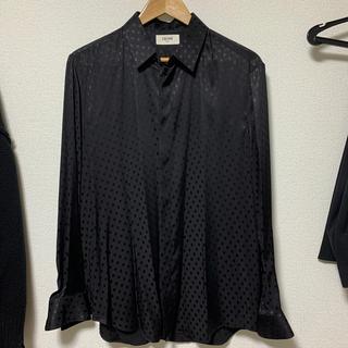 celine - CELINE 19ss ドットシャツ