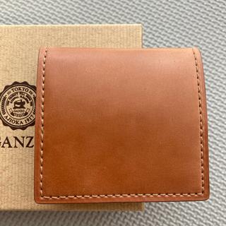 GANZO - ガンゾGANZO シェルコードバン2  BOX小銭入れ ナチュラル