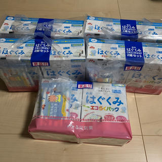 森永乳業 - ぐくみ エコらくパック 詰め替え用(2箱+景品)×5セット