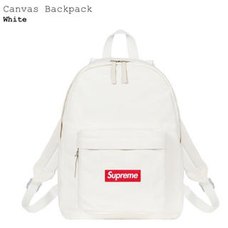 Supreme - Canvas Backpack supreme 新品未開封