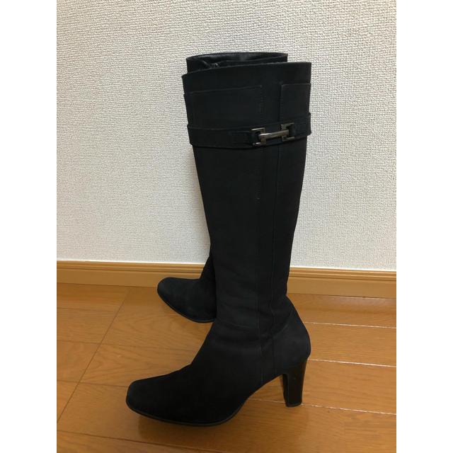 BARCLAY(バークレー)のバークレイ ロングブーツ  黒 レディースの靴/シューズ(ブーツ)の商品写真