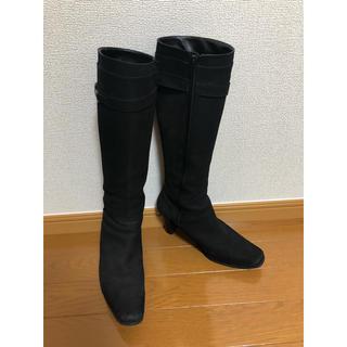 バークレー(BARCLAY)のバークレイ ロングブーツ  黒(ブーツ)