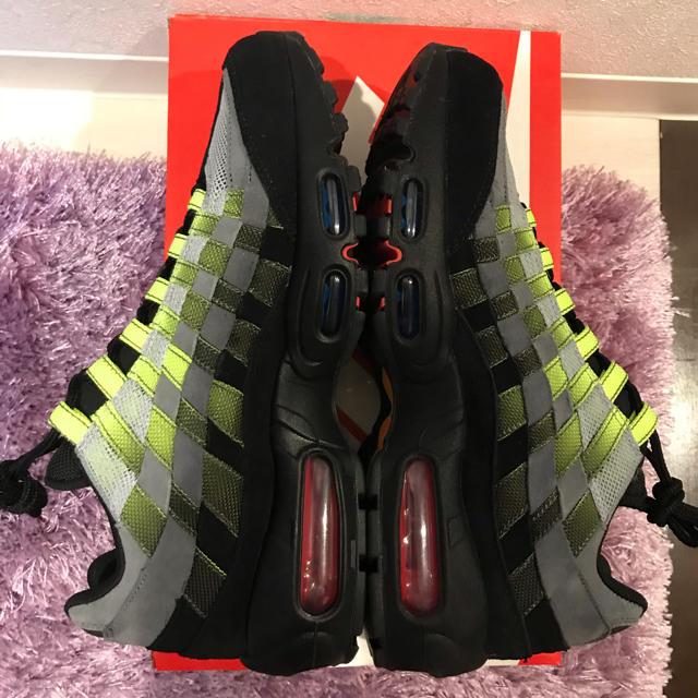 NIKE(ナイキ)のair max 95 woven ウーブン 25.5cm メンズの靴/シューズ(スニーカー)の商品写真