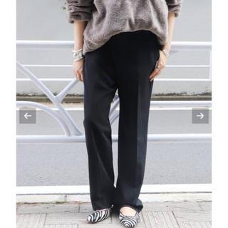 Plage - 2019AW【超美品】ストレートマニッシュパンツ◆ブラウン