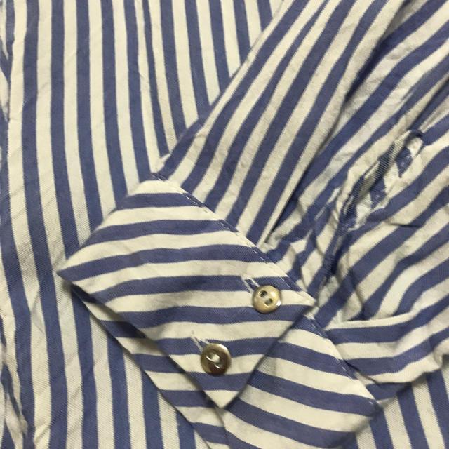 ZARA(ザラ)のZARAストライプオーバシャツ レディースのトップス(シャツ/ブラウス(長袖/七分))の商品写真