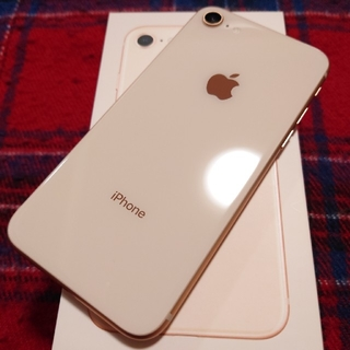 iPhone - iPhone8 Gold 64GB SIMフリー au ゴールド 美品