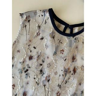 マメ(mame)の新品 ♡ mame マメ ブラウス ブルー size1(シャツ/ブラウス(半袖/袖なし))