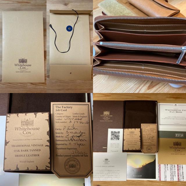 WHITEHOUSE COX(ホワイトハウスコックス)の美品 ホワイトハウスコックス 長財布 S1774 メンズのファッション小物(長財布)の商品写真