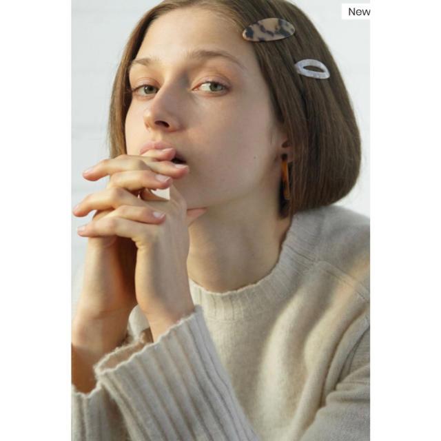 Ron Herman(ロンハーマン)の【新品未使用】Valet studio べっこう ヘアクリップ レディースのヘアアクセサリー(バレッタ/ヘアクリップ)の商品写真