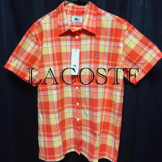 LACOSTE - 新品、タグ付き❗️LACOSTE半袖シャツ