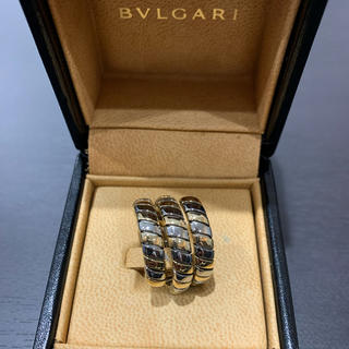 BVLGARI - 希少 定価45万 ブルガリ トゥボカス YG×WG K18/750 箱/保証書