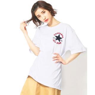 コンバース(CONVERSE)の新品◆CONVERSE◆サガラ刺繍半袖Tシャツ ビッグシルエット(Tシャツ(半袖/袖なし))