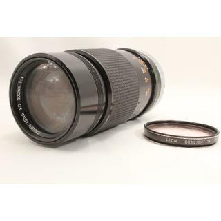 キヤノン(Canon)の外観良好 Canon キャノン FD 200mm F4(フィルムカメラ)