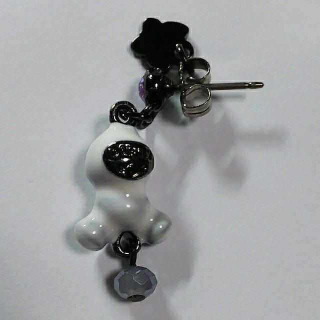 ANNA SUI(アナスイ)の新品 未使用 アナスイ ディズニー アナ雪 スノーギース コラボ シングルピアス レディースのアクセサリー(ピアス)の商品写真