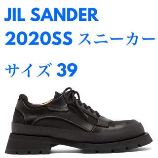 Jil Sander - JIL SANDER チャンキーヒールスニーカー サイズ39