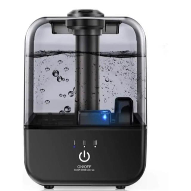 加湿器 上から給水可能 大容量4.5ℓ  乾燥対策 安全な超音波式 スマホ/家電/カメラの生活家電(加湿器/除湿機)の商品写真