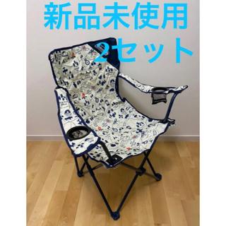 コールマン(Coleman)のコールマン  チェアー キャンプマップ  椅子 2脚セット(テーブル/チェア)
