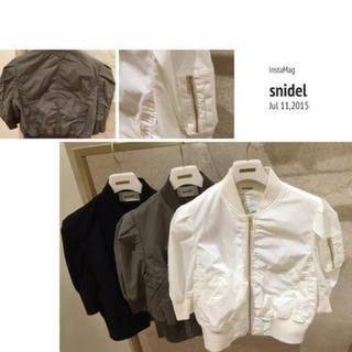 スナイデル(snidel)の美品♡半袖ブルゾン(ブルゾン)