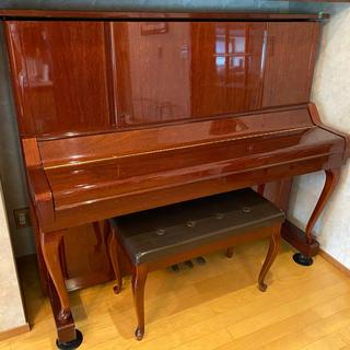ヤマハ(ヤマハ)のYAMAHA ヤマハ アップライトピアノ W106 木目(ピアノ)