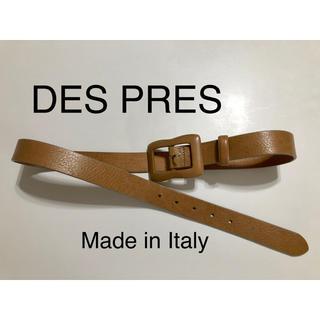 デプレ(DES PRES)のDES PRES デプレ ベルト グレージュ Made in Italy(ベルト)