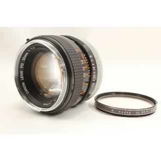 キヤノン(Canon)のCanon FD 50mm F1.4 キヤノン 単焦点レンズ(フィルムカメラ)