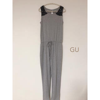 GU - GU  肩レースオールインワン M