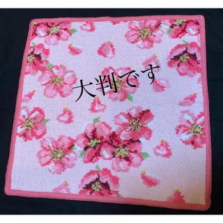 FEILER - フェイラーハンカチ新品未使用 桜 SAKURAレアな大判です!