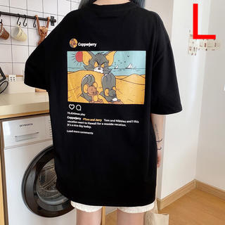 Tシャツ レディース メンズ ユニセックス トムとジェリー ビッグシルエット