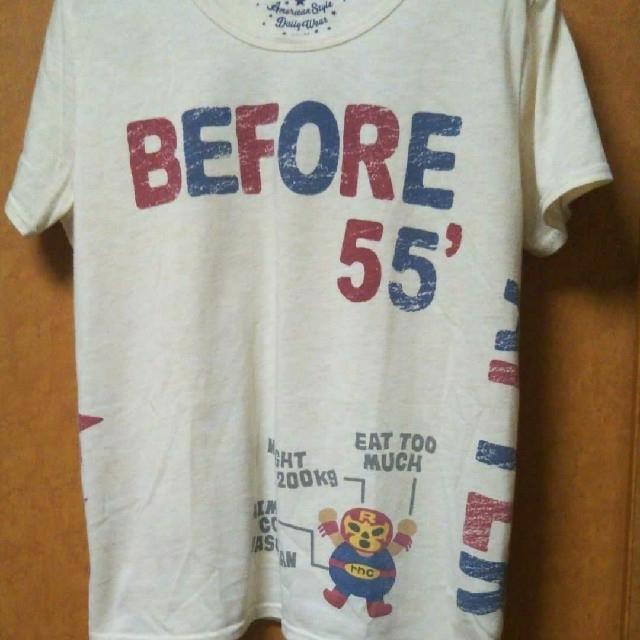 rough(ラフ)のrough ⭐️マスクマンTシャツ【最終お値下げ】 レディースのトップス(Tシャツ(半袖/袖なし))の商品写真