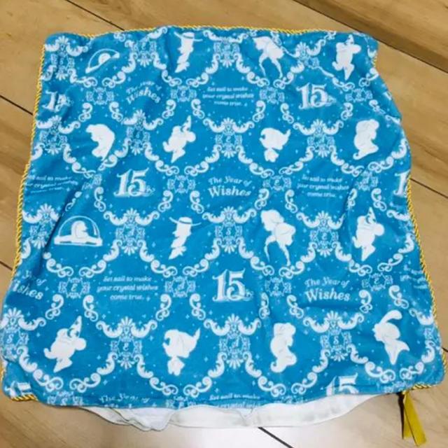 Disney(ディズニー)のクッションカバー ディズニーシー 15周年 インテリア/住まい/日用品のインテリア小物(クッションカバー)の商品写真