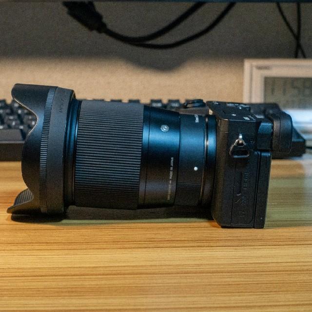 SONY(ソニー)のa6600+sigma16mm F1.4 DC DN スマホ/家電/カメラのカメラ(ミラーレス一眼)の商品写真