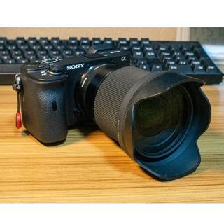 SONY - a6600+sigma16mm F1.4 DC DN