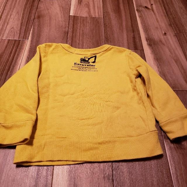 最終値下げ!スラップスリップ トレーナー キッズ/ベビー/マタニティのキッズ服男の子用(90cm~)(Tシャツ/カットソー)の商品写真