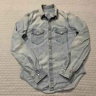 ギャップ(GAP)のGap メンズ デニムシャツ ダンガリーシャツ(シャツ)
