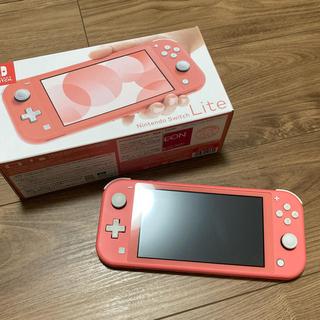 Nintendo Switch - ニンテンドースイッチライト コーラルピンク 本体