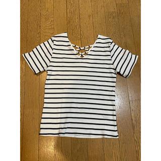 ワンウェイ(one*way)のボーダーTシャツ(Tシャツ(長袖/七分))