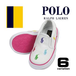 POLO RALPH LAUREN - ポロ ラルフローレン スニーカー スリッポン