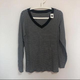 ギャップ(GAP)のボーダーロンT(Tシャツ(長袖/七分))