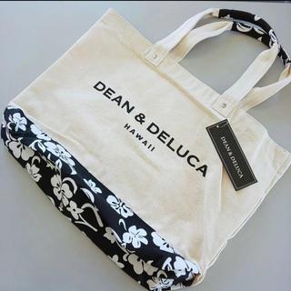 ディーンアンドデルーカ(DEAN & DELUCA)のDEAN & DELUCA アロハ柄 トートバッグ ハワイ限定 Lサイズ(トートバッグ)