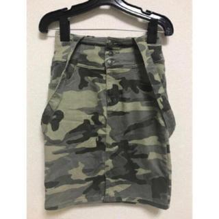 ウィゴー(WEGO)のWEGO カモフラスカート(ひざ丈スカート)