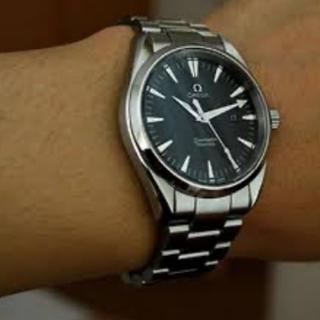OMEGA - オメガ OMEGA 腕時計 シーマスター アクアテラ 150m メンズ ブラック
