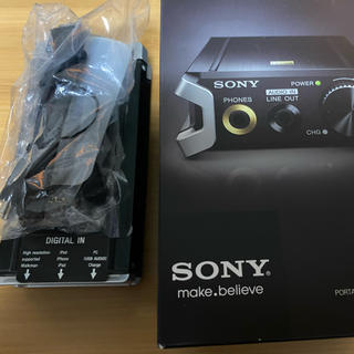 ソニー(SONY)のポータブルヘッドホンアンプ SONY PHA-2(アンプ)