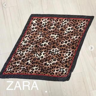 ザラ(ZARA)のZARA レオパード柄スカーフ♡(バンダナ/スカーフ)