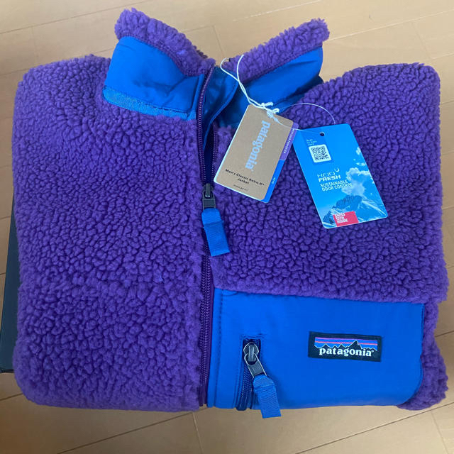 patagonia(パタゴニア)のパタゴニア レトロx パープル L メンズのジャケット/アウター(ブルゾン)の商品写真